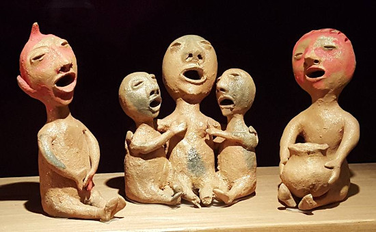 Pueblo figurines, early 20th c. (Museum of Ethnography, Stockholm)
