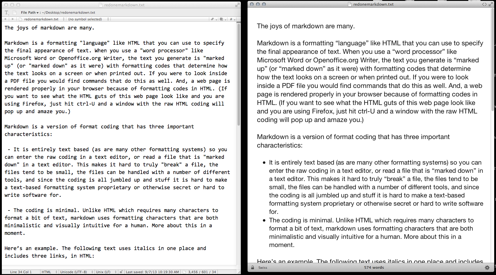 What is Markdown and why use it? | ScienceBlogs