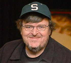 This is Michael Moore. For a while, Clifton had a picture of Michael Moore instead of Michael Mann on his Digital Journal post.  Made me laugh.