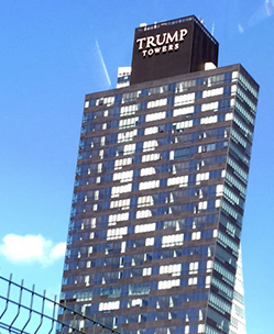 A Trump Tower in Turkey, a Muslim country not banned.