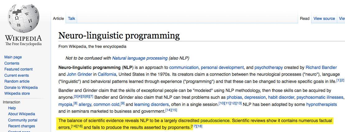 Quack attack on Wikipedia | ScienceBlogs