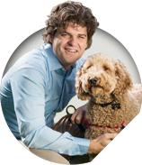 Image of Dr. Brian Hare from Dognition website.