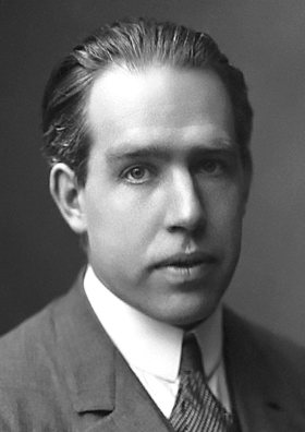 Niels Bohr circa 1922, from Wikipedia.