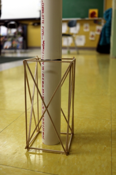 The first complete test structure from SteelyKid's Odyssey of the Mind team.