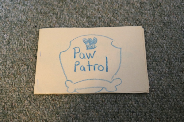The cover of The Pip's PAW Patrol book.