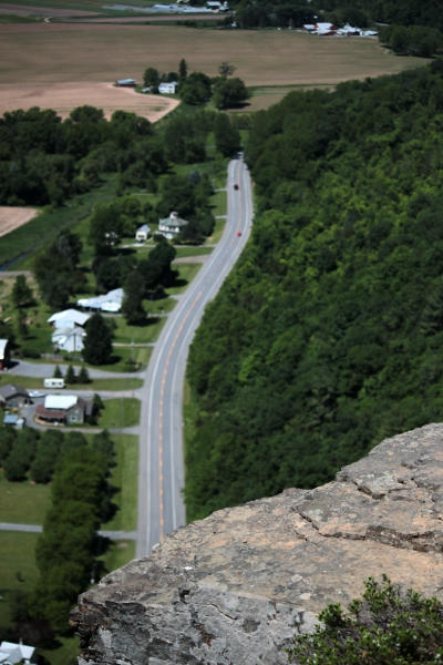 Rt. 30 from the top of Vroman's Nose.