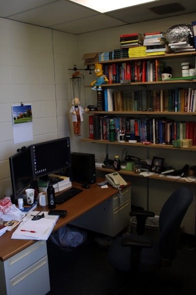 My new office on campus.