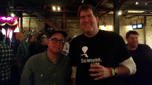 Me with Craig Finn of the Hold Steady.