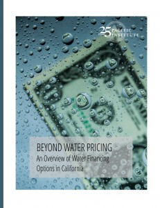 A Pacific Institute study on water financing options in California.