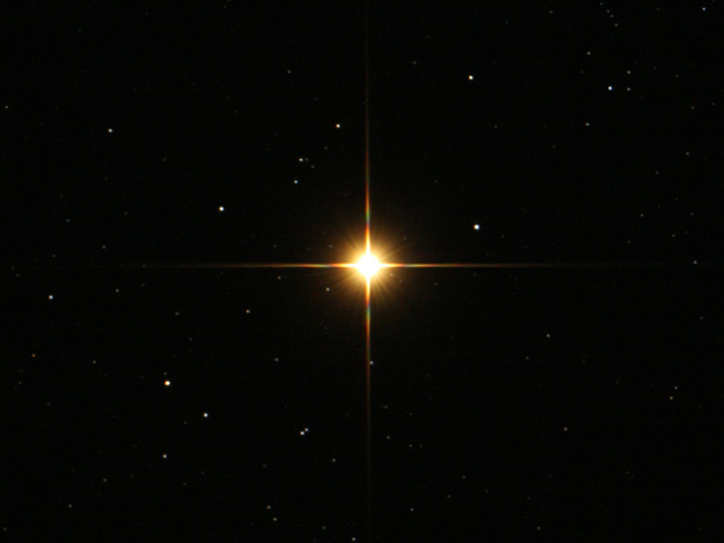 Seeing Red in the Sky   ScienceBlogs Real Star In The Sky
