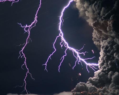 Volcanic Lightning, Eyjafjallajökull, and how it works