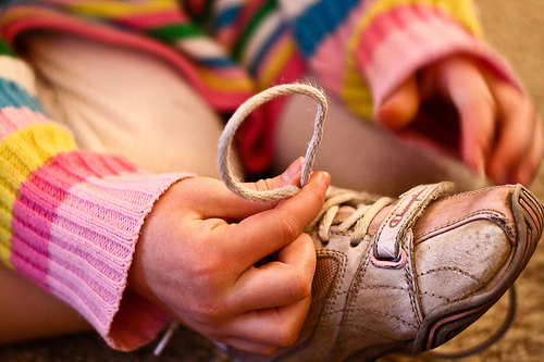 Weekend Diversion: I Finally Learned to Tie My Shoes