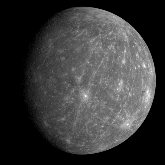 Mercury from Messenger