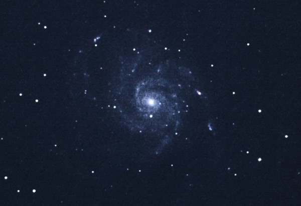"Messier 101 with 8"" scope"