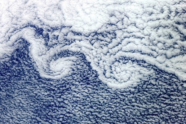 Turbulent cloud formations