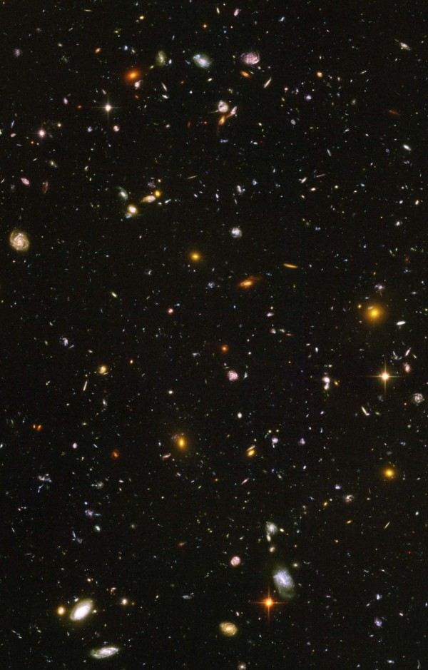 A selection of the Hubble Ultra Deep Field
