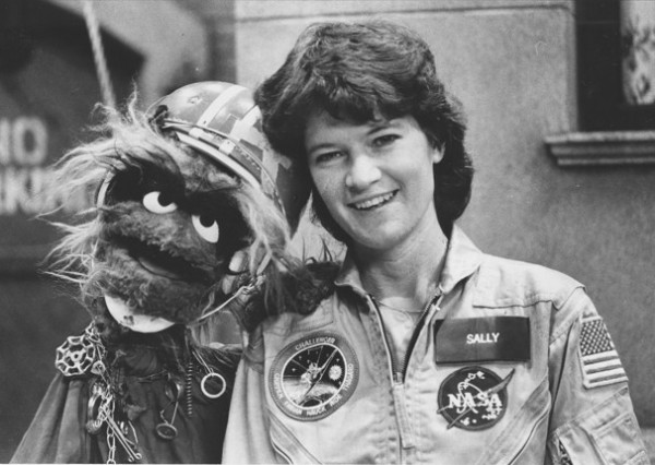 Sally Ride on Sesame Street, 1984