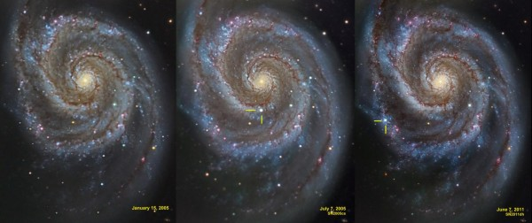 Two supernovae within 6 years in M51