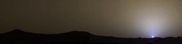 Sunset from Mars Pathfinder