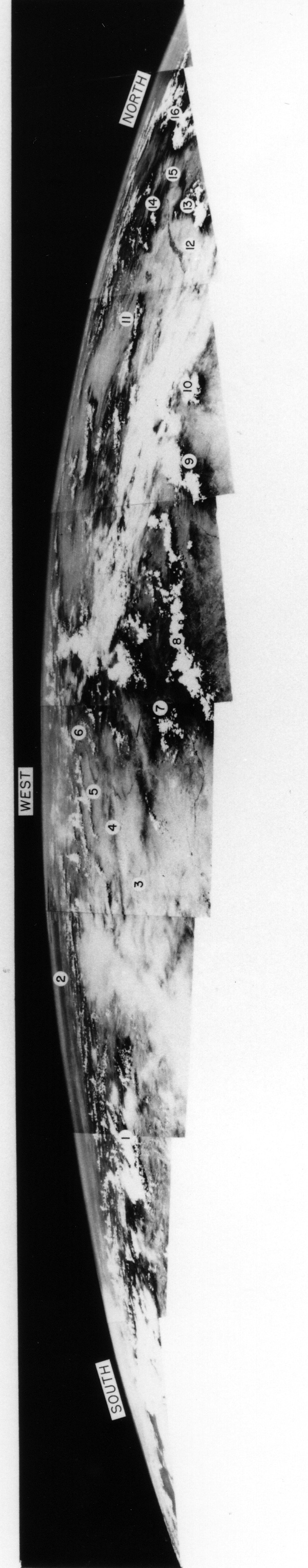 Panorama of the Earth from 1948.