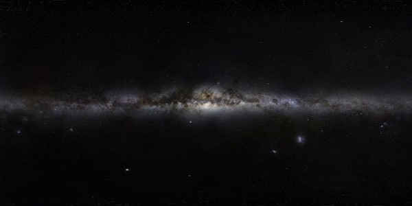 Milky Way, from GigaGalaxyZoom
