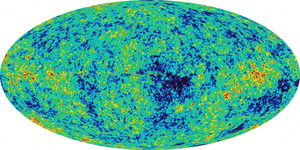 WMAP sky map of the Cosmic Microwave Background