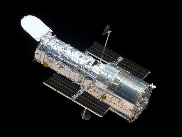 The Hubble Space Telescope from Space Shuttle Atlantis