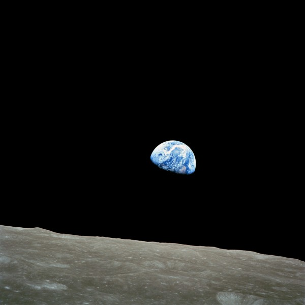 Earthrise from the Apollo 8 mission