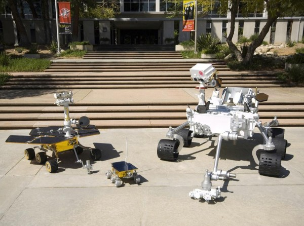 The family of Mars Rovers