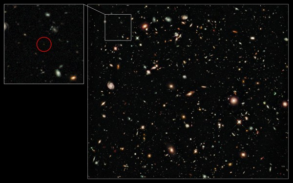 Farthest galaxy ever at z=8.6