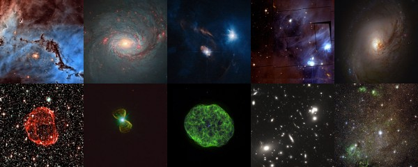 Hubble's Hidden Treasures image processing competition
