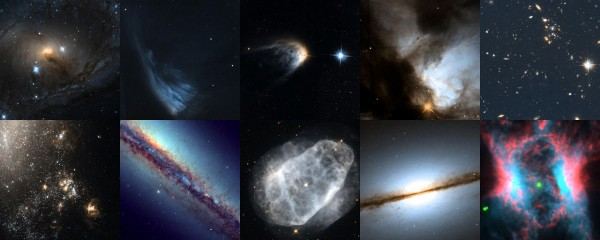 Top 10 images from Hubble's Hidden Treasures 2012 basic competition
