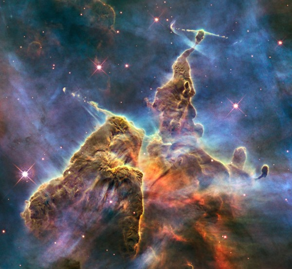 """Magic Mountain"" in the Carina Nebula"