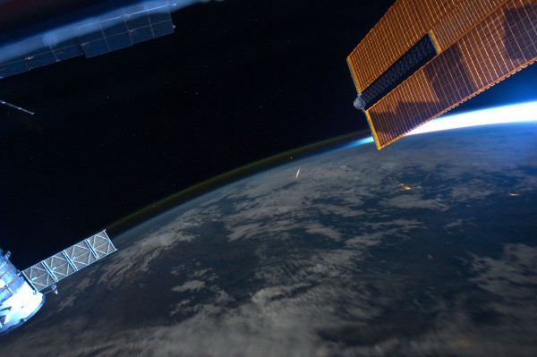 2011 Perseid Meteor as seen from the ISS