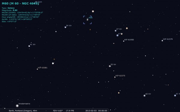 Image credit: Me, using Stellarium, available at http://stellarium.org/.