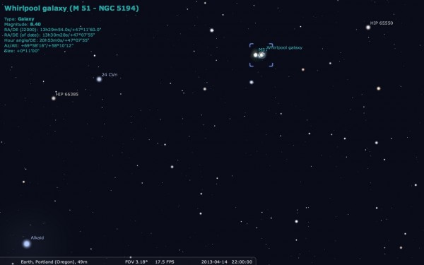 Image credit: me, using the free software Stellarium.