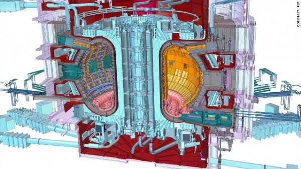 Image credit: ITER (International Thermonuclear Experimental Reactor).