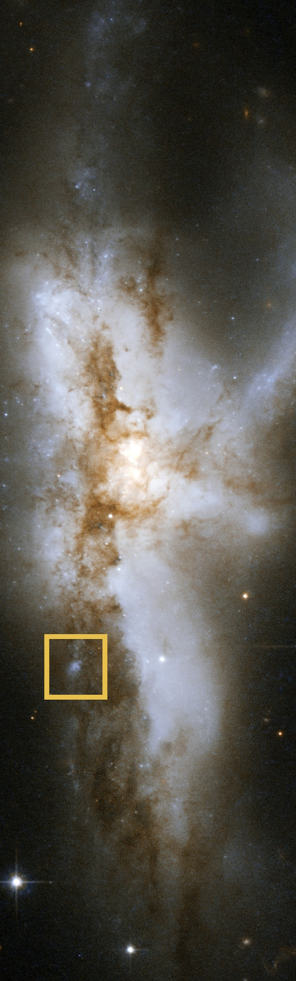 Image credit: NASA, ESA, the Hubble Heritage (STScI/AURA)-ESA/Hubble Collaboration, and A. Evans (University of Virginia, Charlottesville/NRAO/Stony Brook University).