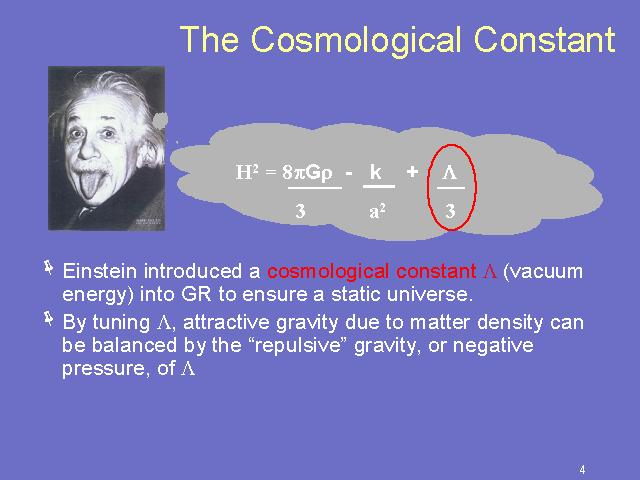 Einsteins Greatest Blunder Was Really A Blunder Scienceblogs