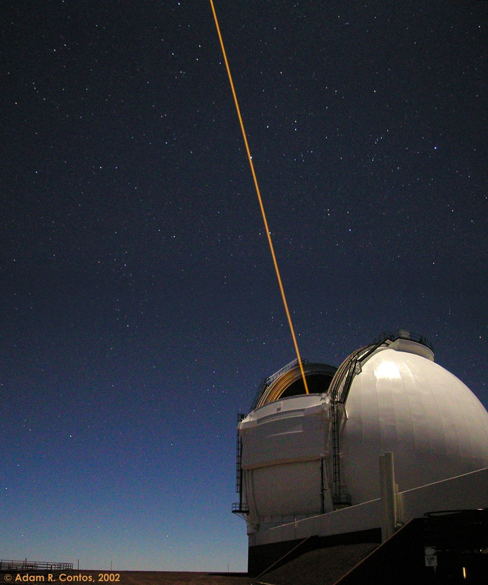 Why observatories shoot lasers at the Universe   ScienceBlogs