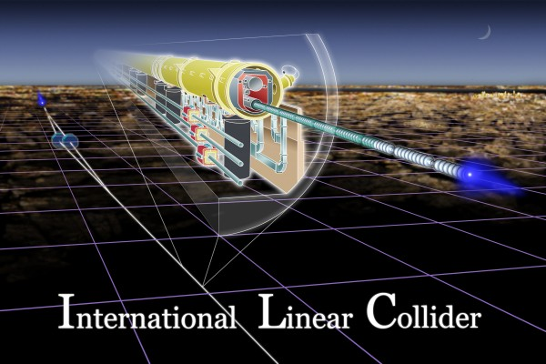 Image credit: Artist's conception of the ILC, via MIT's Knight Science Tracker.