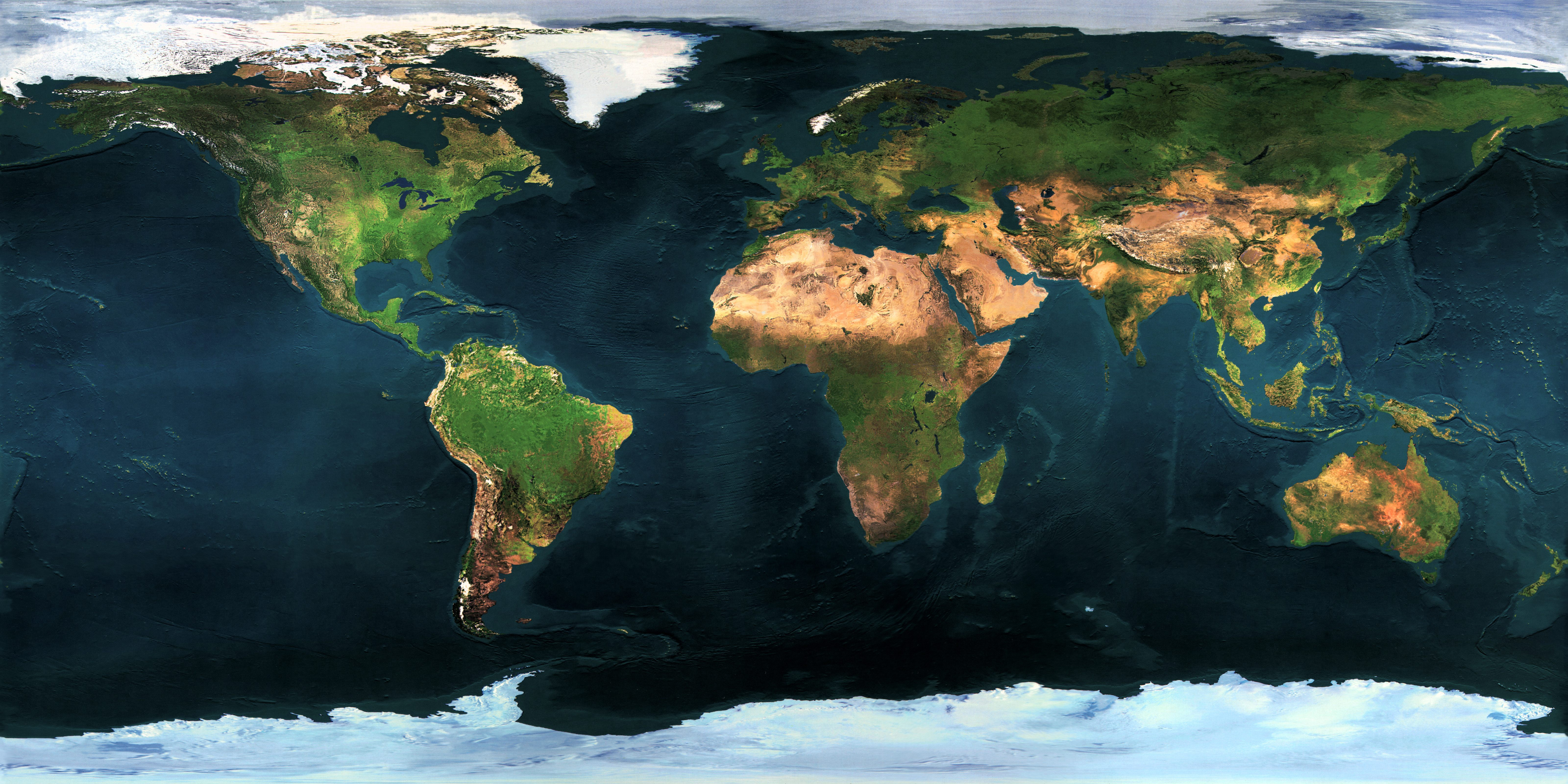 Full Earth Map.Ask Ethan 4 Weird Astronomy Maps Scienceblogs