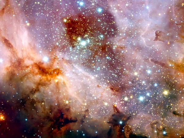 Image credit: ESO / R. Chini, from the ESO's Very Large Telescope.