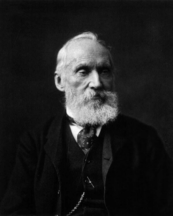 Image credit: Photograph of William Thomson, Lord Kelvin; photographer unknown.
