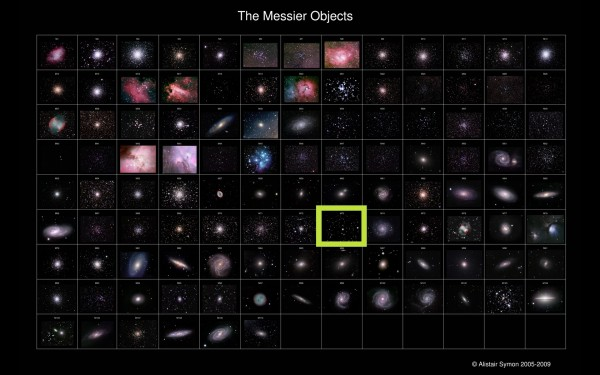 Image credit: The Messier Objects by Alistair Symon, from 2005-2009.