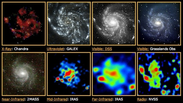 Image credit: NASA / CoolCosmos / IPAC, with many other credits in situ.