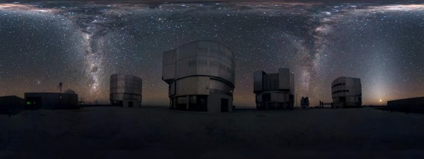Image credit: ESO/S. Brunier; click and zoom, it's worth it!!!