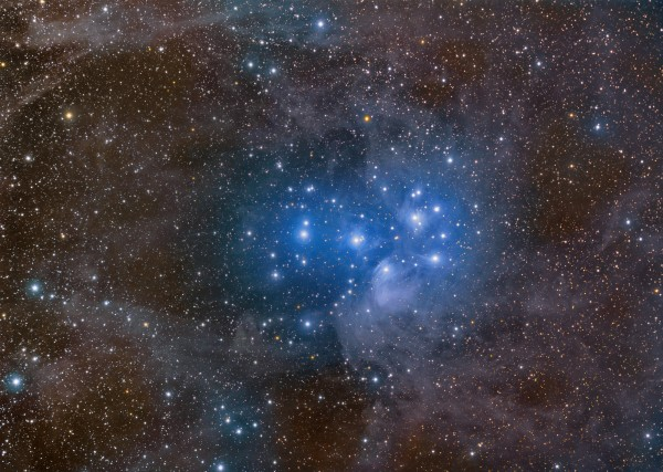 Image credit: Rogelio Bernal Andreo (Deep Sky Colors), of Messier 45.