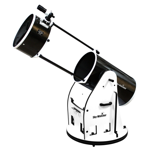 Image credit: © 2014 Rother Valley Optics Ltd., via http://www.rothervalleyoptics.co.uk/skywatcher-skyliner-400p-flex-tube-dobsonian-telescope.html.