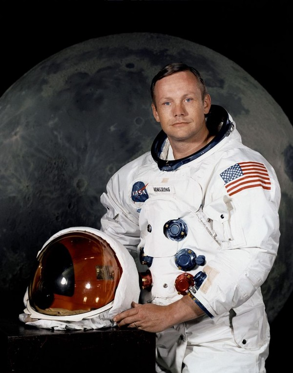 Image credit: NASA. This is the official NASA / Apollo 11 mission photo of Neil Armstrong, first man on the Moon.